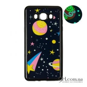 Чехол-накладка Remax Night Series для iPhone 5 / 5s / SE Black Dark Planets
