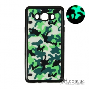 Чехол-накладка Remax Night Series для iPhone 5 / 5s / SE Black Military Green