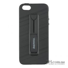 Чехол-накладка Remax Hold Series для iPhone 5 / 5s / SE Black