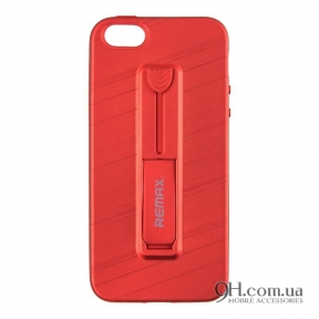 Чехол-накладка Remax Hold Series для iPhone 5 / 5s / SE Red