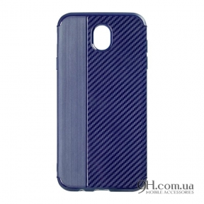 Чехол-накладка iPaky Carbon Thin Series для iPhone 5 / 5s / SE Navi Blue