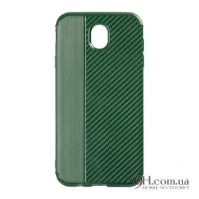 Чехол-накладка iPaky Carbon Thin Series для iPhone 6 / 6s Navi Green