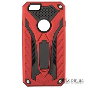 Чехол-накладка iPaky Cavalier Series для iPhone 5 / 5s / SE Red