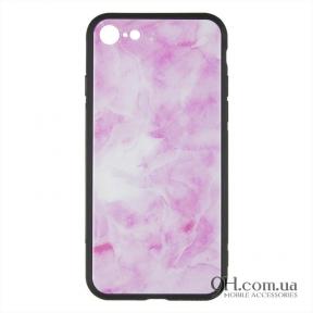 Чехол-накладка iPaky Print Series для iPhone 6 / 6s Pink Marmor
