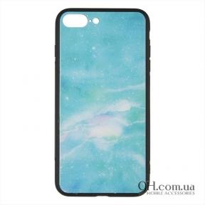 Чехол-накладка iPaky Print Series для iPhone 6 Plus / 6s Plus Green Marmor