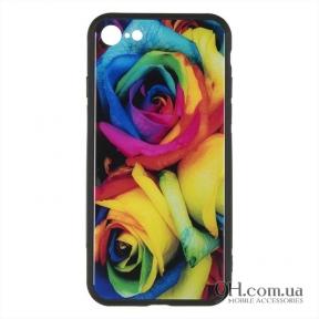 Чехол-накладка iPaky Print Series для iPhone 6 Plus / 6s Plus Mystic Roses