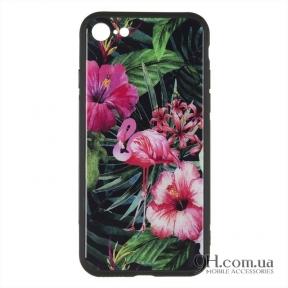 Чехол-накладка iPaky Print Series для iPhone 6 Plus / 6s Plus Pink Flamingo