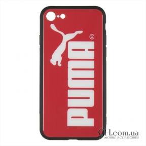 Чехол-накладка iPaky Print Series для iPhone 6 Plus / 6s Plus Puma Red