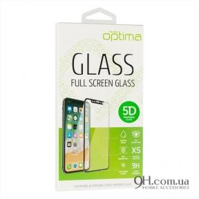Защитное стекло Optima M-Design 5D для iPhone X / XS Black