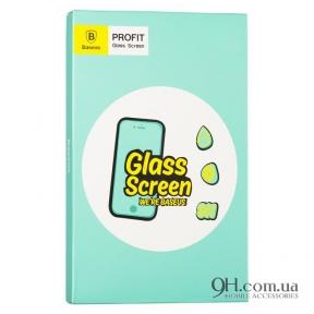 Защитное стекло Baseus Arc-Surface Anti-Blue Light для iPhone 6 Plus / 6s Plus Black (0.23 mm)