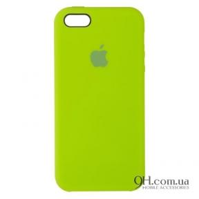 Чехол-накладка Original Soft Case для iPhone 5 / 5s / SE Green