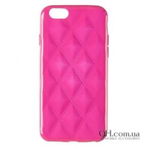 Чехол-накладка Baseus Rhombus Case для iPhone 6 / 6s Pink