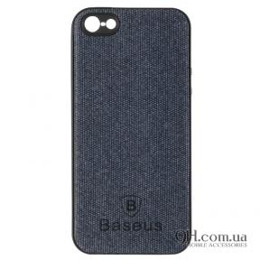 Чехол-накладка Baseus Skill Case для iPhone 5 / 5s / SE Blue