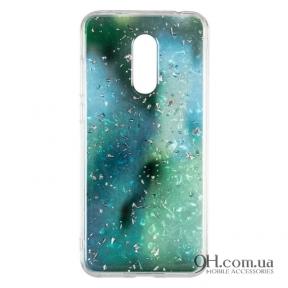 Чехол-накладка Baseus Light Stone Case для iPhone 5 / 5s / SE Green