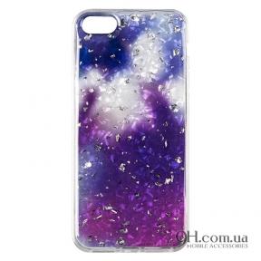 Чехол-накладка Baseus Light Stone Case для iPhone 5 / 5s / SE Violet