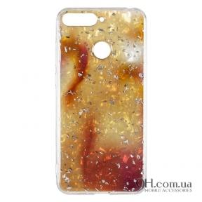 Чехол-накладка Baseus Light Stone Case для iPhone 5 / 5s / SE Gold