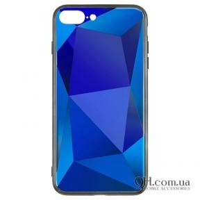 Чехол-накладка Baseus Prizma Case для iPhone X / XS Blue/Violet