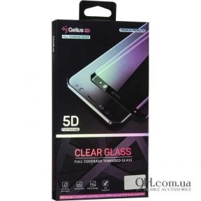 Защитное стекло Gelius Clear Glass 5D для iPhone X / XS Black