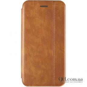 Чехол-книжка Gelius Leather для iPhone X / XS Brown