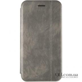 Чехол-книжка Gelius Leather для iPhone X / XS Grey
