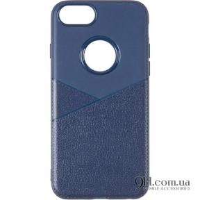 Чехол-накладка Leather для iPhone 6 / 6s Blue