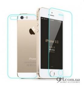 Защитное стекло для iPhone 5 / 5s  / 5c / SE (Front + Back)