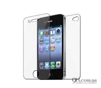 Защитное стекло для iPhone 4 / 4s (Front + Back)