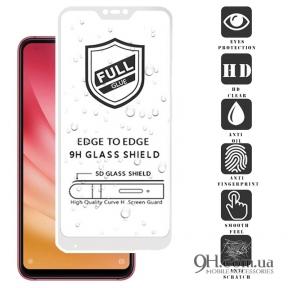 Защитное стекло Full Glue 3D для Xiaomi Redmi Note 5 / 5 Pro White
