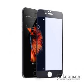 Защитное стекло Full Screen 3D для iPhone 5 / 5s  / 5c / SE Black