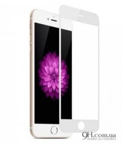Защитное стекло Full Screen 3D для iPhone 5 / 5s  / 5c / SE White