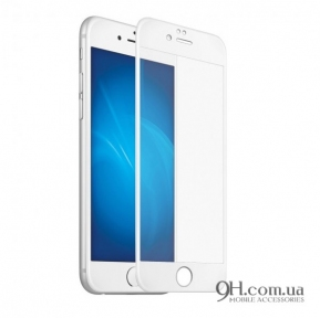 Защитное стекло 5D для iPhone 6 / 6s White