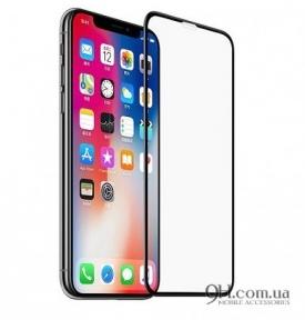 Защитное стекло Full Screen 3D для iPhone X / XS Black